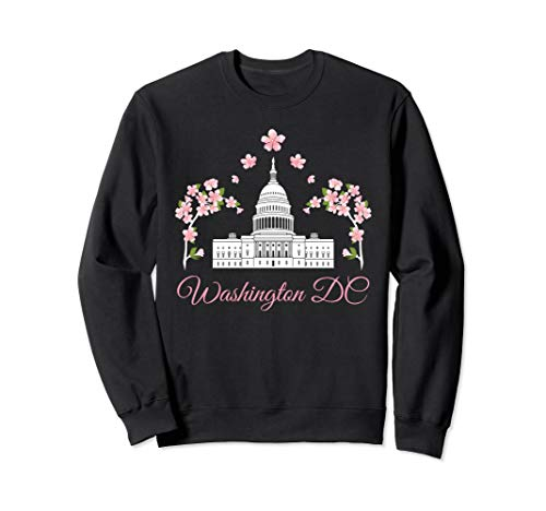 Washington DC Cherry Blossom Sweatshirt ()