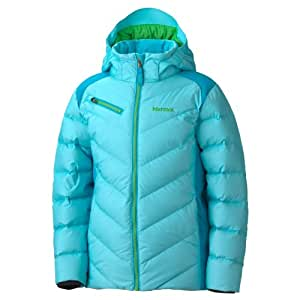 Marmot Girl's Starstruck Jacket, Light Sea/Blue Sea, Small