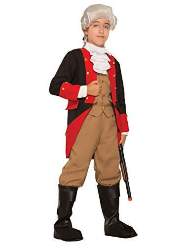 Boy's British Revolutionary War Costume ()