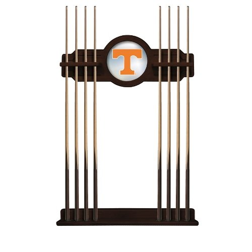 Tennessee Pool - NCAA Pool Cue Rack by Holland Bar Stool, English Tudor - University of Tennessee