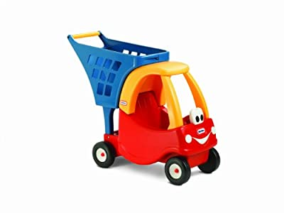 Little Tikes Cozy Shopping Cart Redyellow from Little Tikes