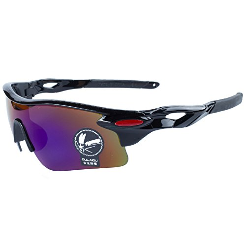 Gafas Gafas Lentes ANVEY De Al Gafas Ciclismo Azul Pesca Deportes Conducción De Bicicleta Aire Para La Negro Moda Sol Montura Libre de q1F7qZr