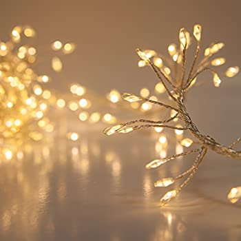 Amazon Com Christmas Cluster Lights 10 Foot Garland With