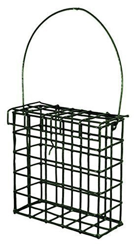 Fat Cake / Suet Block Holder for Wild Birds from Melian Fadulla