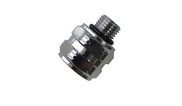 Scuba Choice Scuba Adaptor M-7//16-20 F-3//8-24 AS568-012-N70 7//16-20 UNF-2A 3//8-24 UNF-2B