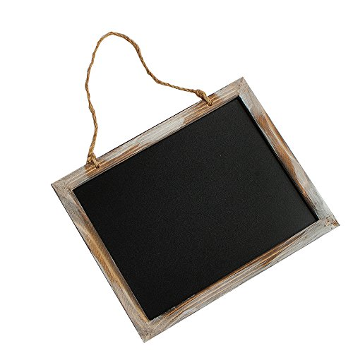 2087 Wooden Frame Vintage Rectangle Chalkboard for Message Board Signs