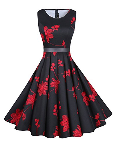 Buy black 1950s prom dress - 3