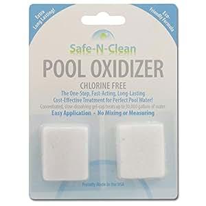 Amazon.com: safe-n-clean piscina oxidizer ™ gel-cap químicos ...