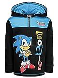 SEGA Sonic The Hedgehog Little Boys Fleece Hoodie