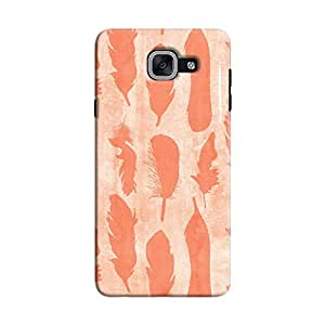 Cover It Up - Pink Feather Print 1 Galaxy J7 Prime Hard Case