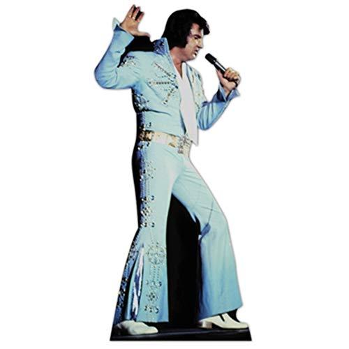 SC240 Elvis Presley Blue Jumpsuit Cardboard Cutout -