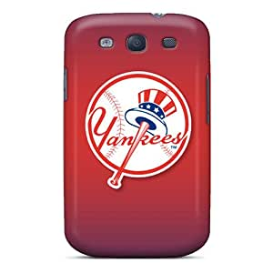 Great Hard Phone Covers For Samsung Galaxy S3 (qDc2749GxUV) Unique Design High-definition New York Yankees Pattern