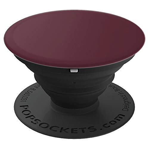 Solid Red Glass - Wine Red - Solid Color Series - PopSockets Grip and Stand for Phones and Tablets