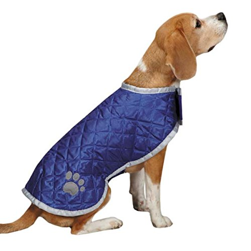 Casual Canine Quilted Noreaster Cappotto per Cani, 30,5 cm, Piccolo, rosa