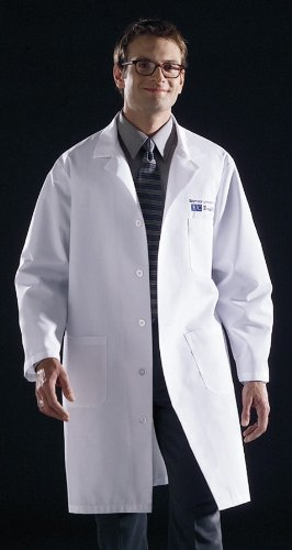 Medline Knee Length Lab Coat