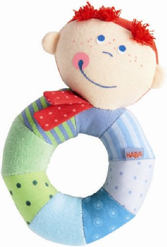 HABA Rio Ringlet Clutching Toy (Clutch Toy)