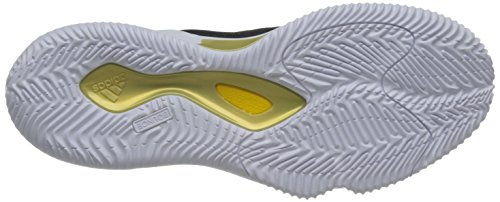 Adidas Mens D Rose Dominate Iii, Nero / Oro Met / Bianco Nero / Oro Met / Bianco