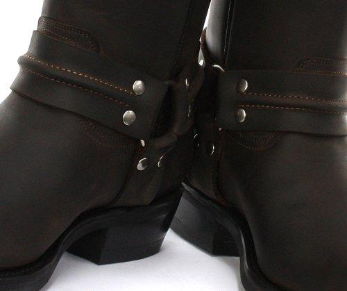 Mens Boots Renegade Brown Grinders Cowboy Dark Hi qOYwxIIHB