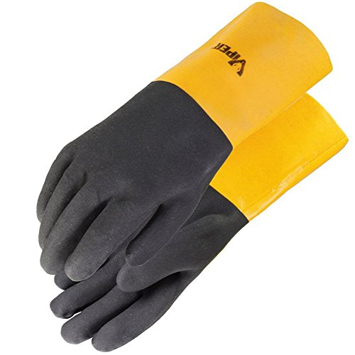 - Galeton 7114 Viper Double Coated PVC Gloves, 14
