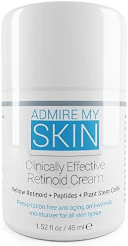 Potent Retinoid Cream Provides Retin A & Tretinoin Cream Results Without A Prescription - The Most Effective Retinoic Acid Moisturizer For Acne & Wrinkles Will Provide You With That Youthful Glow
