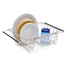 Polder Stainless-Steel Sink Dish Rack