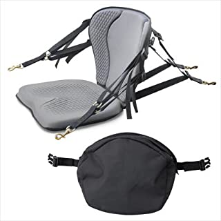 product image for Surf To Summit GTS Pro Molded Foam Kayak Seat W/Zipper Pack, Sit On Top Kayak Seat, Back Support Kayak Seat, Kayak Cushion