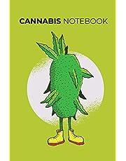 Cannabis Notebook: ~ Marijuana Strain Log Journal