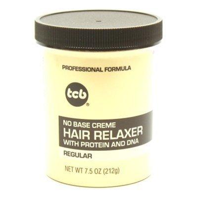- TCB No Base Hair Relaxer Creme, Regular, 7.5 Ounce
