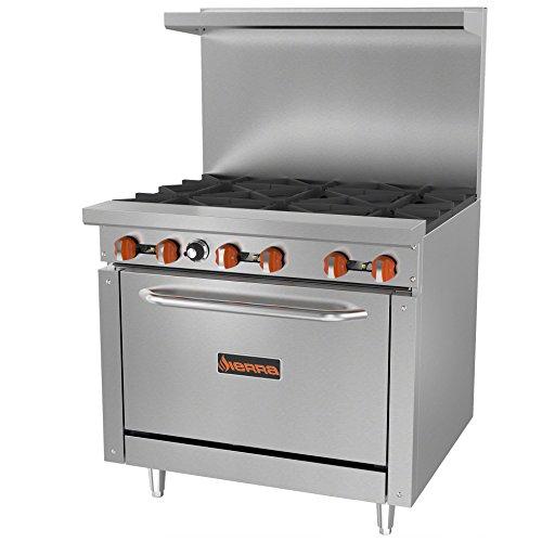 gas 6 burner stove - 6