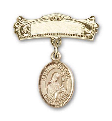 Icecarats Or Bijoux De Créateurs Rempli R. Gertrude De Charme Nivelles Broches Badge Arc 7/8 X 3/4