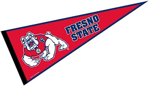 WinCraft Fresno State Bulldogs Premium Pennant 12 X 30