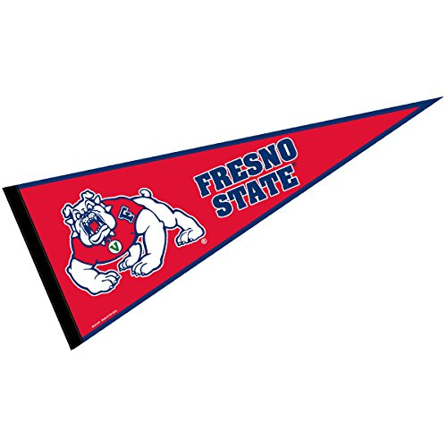 College Flags and Banners Co. Fresno State Pennant Full Size Felt