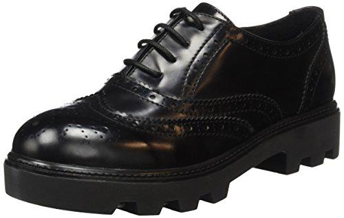 para Negro s Oliver BLACK 23619 de Zapatos Mujer Vestir 1 gXfqw