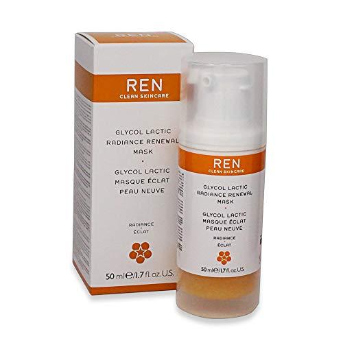 REN Glycol Lactic Radiance Renewal Mask, 1.7 fl. oz