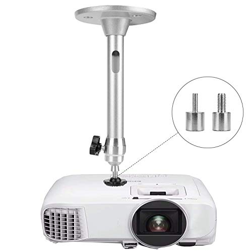 Mini Ceiling Wall Projector Mount - for QKK, DR.J Upgrade, DBPOWER, Anker, AAXA Technologies, Artlii, LoongSon, APEMAN and Most Other Mini Projector - Ceiling Wall Mount Projector