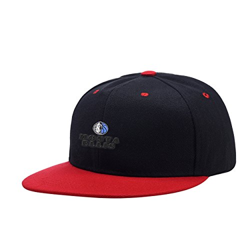 NewCents Monta Favorite Player Ellis Black Mix Red Embroidered Logo Adjustable Hiphop Hat Baseball Cap Onesize Teenager