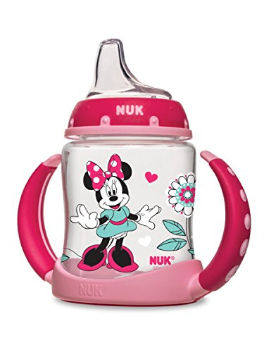 NUK Disney Learner Cup with Silicone Spout, Mickey Mouse, 5 Oz 62047