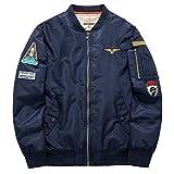 Henreiba Men Air Force Coat Spring Military Windbreaker Pilot Baseball Jackets