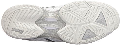 Tennis 3 ASICS Solution Women's Silver White Speed Gel Shoe xAAqf1g