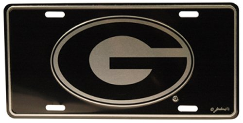 Georgia Bulldogs Logo Plate (NCAA Georgia Bulldogs Car Tag)