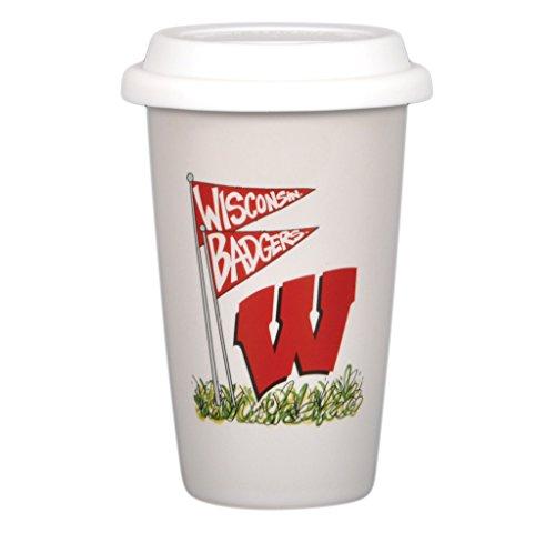 (University of Wisconsin 14oz Travel Mug)