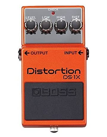BOSS DS-1X DISTORTION - Pedal de efectos overdrive y distorsi?n