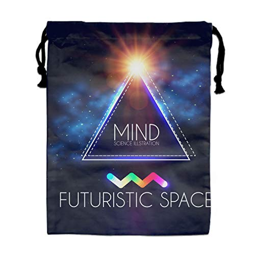 Geomrtic Banner Drawstring Bags Party Favors Bags(1 Pack), Personalised Birthday Fabric Party Goodie Bag Gift for Kids Boys & Girls for $<!--$16.98-->