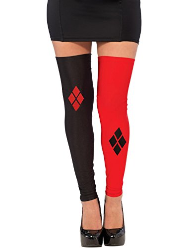Rubie's Costume Co Women's DC Superheroes Thigh Highs, Harley Quinn -