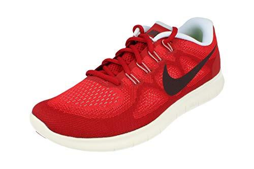 Nike Men's Free RN 2017, UNIVERSITY RED/PORT WINE, 7 M US by Nike (Image #5)
