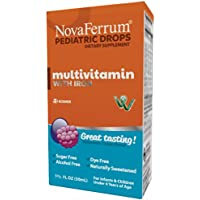 NovaFerrum 50 ML Multivitamin with Iron Supplement for Infants and Toddlers