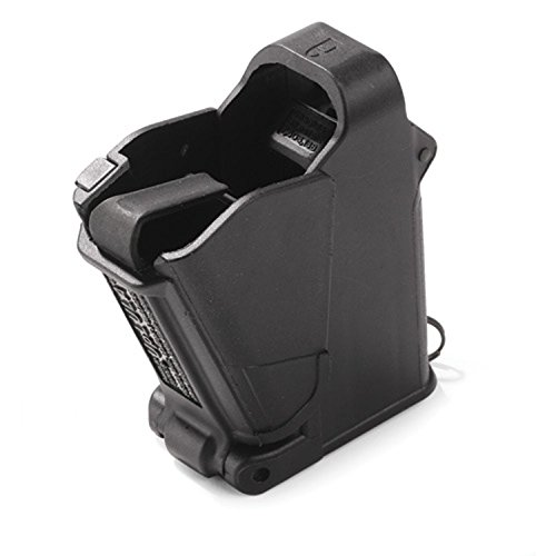 Maglula UpLULA Magazine Speed Loader 9mm, 0.45 ACP UP60B (Best Double Stack Subcompact 9mm)