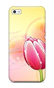 TYH - Best K4 High Quality Flower Skin Case Cover Specially Designed For Iphone - 4/4s phone case