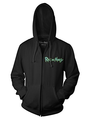 Ripple Junction Rick and Morty Ricks of Futures Past Teratophile 1st Place Adult Zip Hoodie 3XL (1 First Place)
