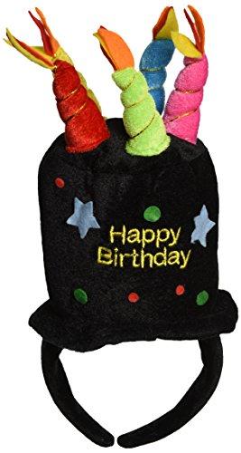 Plush Happy Birthday Headband Accessory